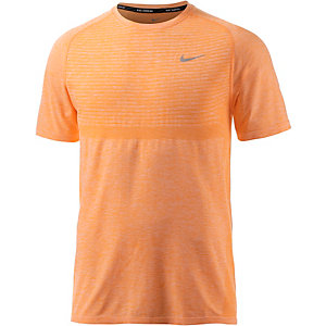 Nike Dri-Fit Knit Funktionsshirt Herren orange