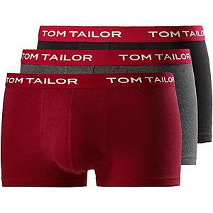 TOM TAILOR Boxer Herren grau/rot/schwarz