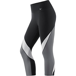 Nike Legendary Tights Damen schwarz/grau