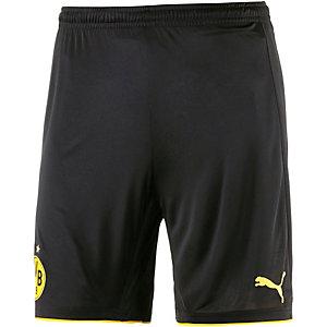 PUMA Borussia Dortmund 16/17 Heim Fußballshorts Herren schwarz/gelb