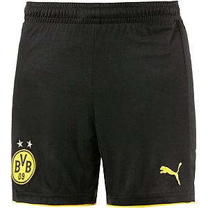 PUMA Borussia Dortmund 16/17 Heim Fußballshorts Kinder schwarz/gelb