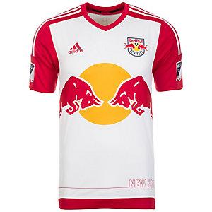 adidas New York Red Bulls 16 Heim Fußballtrikot Herren weiß / rot