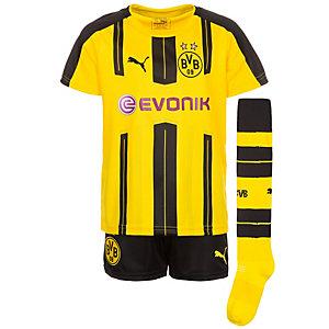 PUMA Borussia Dortmund 16/17 Heim Fußballtrikot Kinder gelb / schwarz
