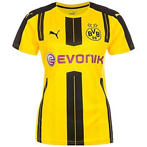 PUMA Borussia Dortmund 16/17 Heim Fußballtrikot Damen gelb / schwarz