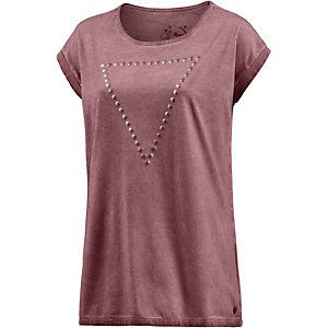 Mavi T-Shirt Damen bordeaux