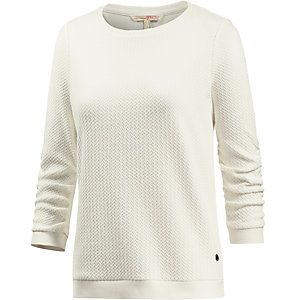 TOM TAILOR Sweatshirt Damen offwhite