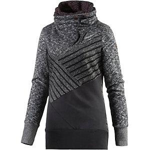 Ragwear Viola Sweatshirt Damen anthrazit/schwarz