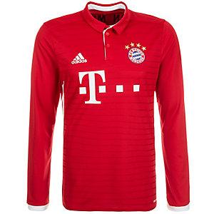 adidas FC Bayern München Trikot 16/17 Heim Fußballtrikot Herren rot / weiß