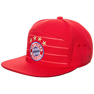 adidas FC Bayern München Anthem Heim Cap rot