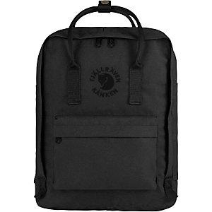 FJÄLLRÄVEN Re-Kanken Daypack schwarz