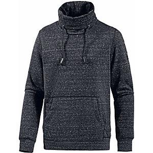 Ragwear Sweatshirt Herren schwarz melange