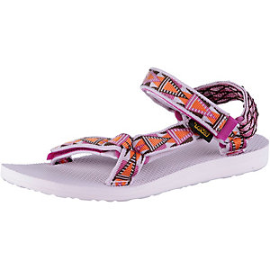 Teva Original Universal Outdoorsandalen Damen lila/orange/weiß