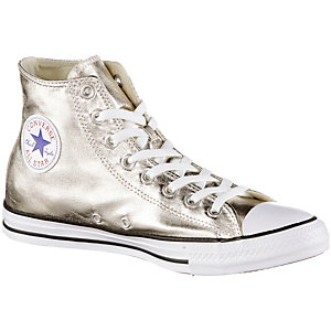 CONVERSE Chuck Taylor All Star Hi Metallics Sneaker Damen Gold