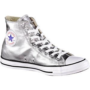 CONVERSE Chuck Taylor All Star Hi Metallics Sneaker Damen Silver
