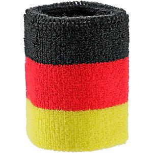 ID Merchandising Fanartikel Schweißband schwarz/rot/goldfarben