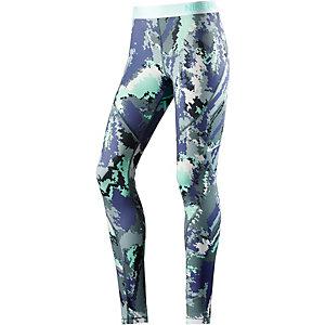 Nike Pro Tights Damen mint/lila