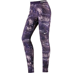 Nike Pro Tights Damen dunkellila/flieder