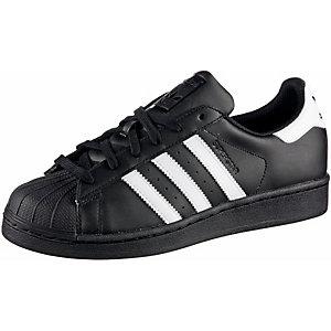 adidas Superstar Sneaker Herren schwarz/weiß