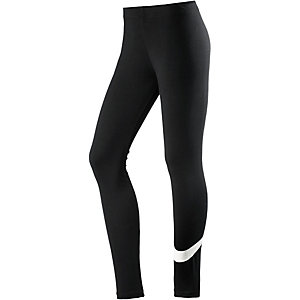Nike CLUB Leggings Damen schwarz