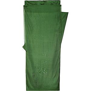 COCOON MummyLiner Hüttenschlafsack grün