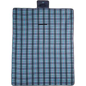 Mc Kinley RUG Fleece Decke türkis/blau/rot