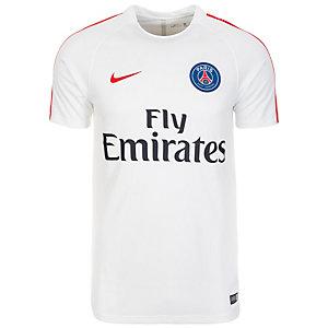 Nike Paris Saint-Germain Dry Squad Fanshirt Herren weiß / rot