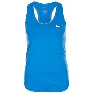 Nike Pure Funktionstank Damen blau / weiß
