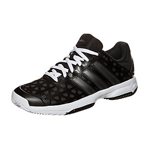 adidas Barricade Club Tennisschuhe Kinder schwarz / weiß