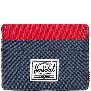 Herschel Charlie Geldbeutel blau / rot
