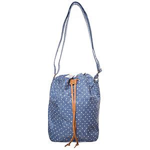 Herschel Carlow Cross Body Handtasche Damen blau / weiß