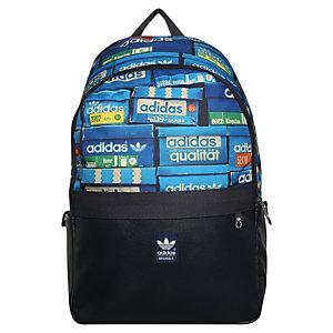 adidas Essential Shoeboxes Daypack dunkelblau / bunt