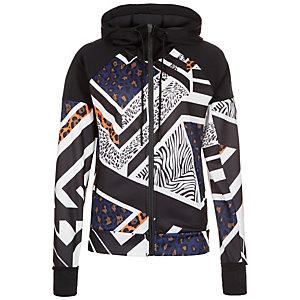 adidas Daybreaker Olympic Trainingsjacke Damen schwarz / bunt