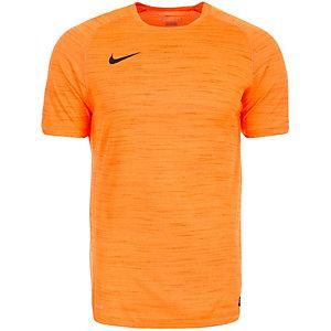 Nike Flash Cool Funktionsshirt Herren orange / schwarz