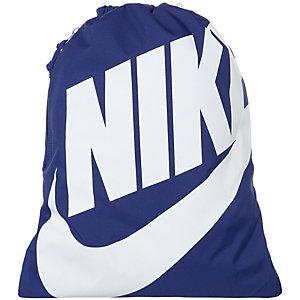 Nike Heritage Turnbeutel dunkelblau / weiß