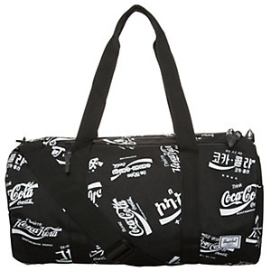 Herschel Sparwood Duffel Sporttasche schwarz / weiß