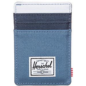 Herschel Raven Geldbeutel blau / weiß