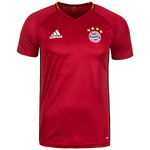 adidas FC Bayern München Fanshirt Herren rot