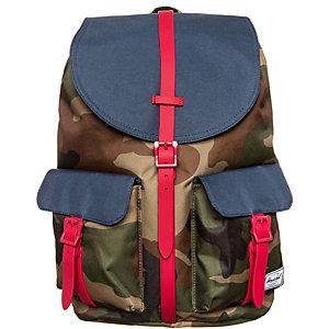 Herschel Dawson Daypack camouflage / rot