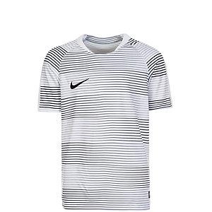 Nike Flash Graphic Fußballtrikot Kinder weiß / schwarz