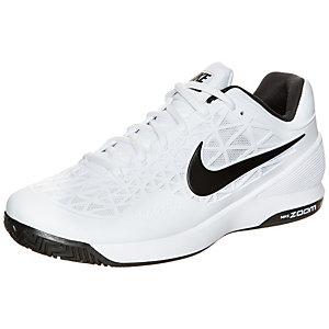 Nike Zoom Cage 2 Tennisschuhe Herren weiß / schwarz