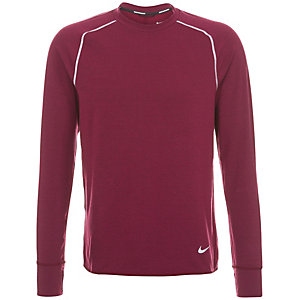 Nike Dri-Fit Feather Fleece Cr Laufshirt Herren bordeaux / silber