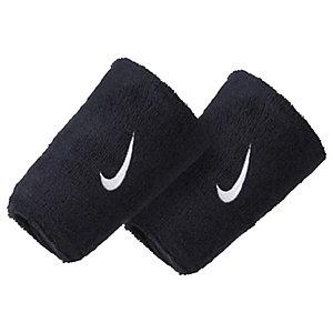 Nike Swoosh Doublewide Schweißband dunkelblau / weiß