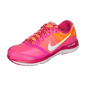 Nike Dual Fusion X Laufschuhe Kinder pink / weiß / orange