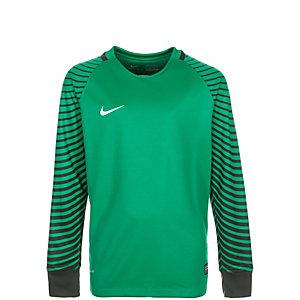 Nike Gardien Torwarttrikot Kinder grün / schwarz