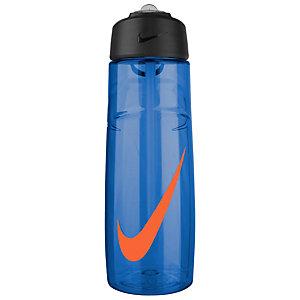 Nike T1 Flow Swoosh Trinkflasche blau / rot