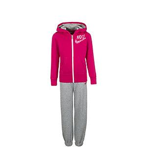 Nike Hybrid Cuffed Trainingsanzug Mädchen pink / pink