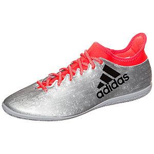 adidas X 16.3 Fußballschuhe Herren silber / orange