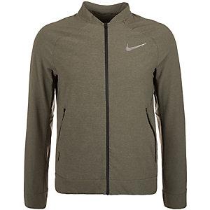 Nike Tech Woven Trainingsjacke Herren khaki / silber