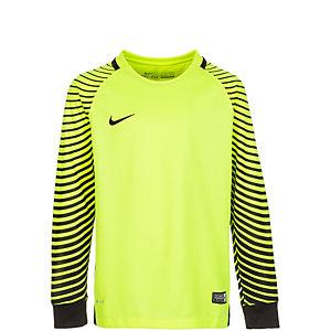 Nike Gardien Torwarttrikot Kinder neongelb / schwarz