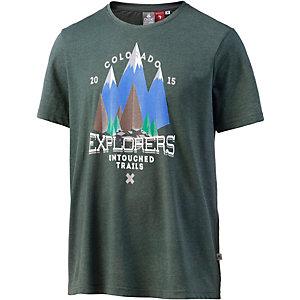 OCK T-Shirt Herren dunkelgrün